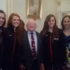 McDowell cousins at Presidential Reception