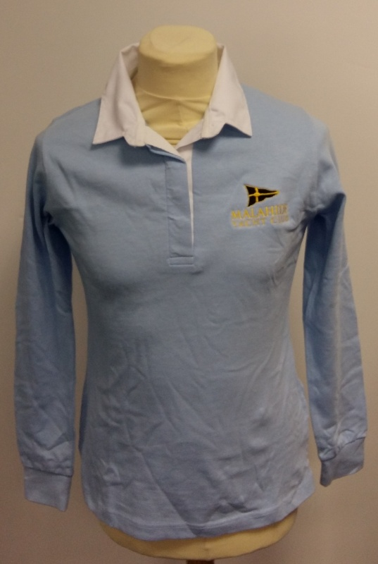 3cfd8ff05b16a8 Ladies long sleeve rugby shirt -